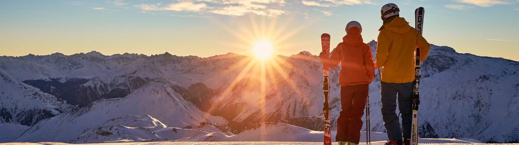 Sonne, Firn und legendäre Konzerte - das bietet der Sonnenskilauf in Ischgl.