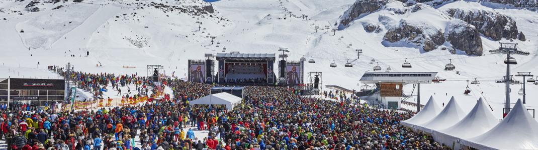 Zu den legendären Top of the Mountain Konzerten kommen absolute Weltstars nach Ischgl.