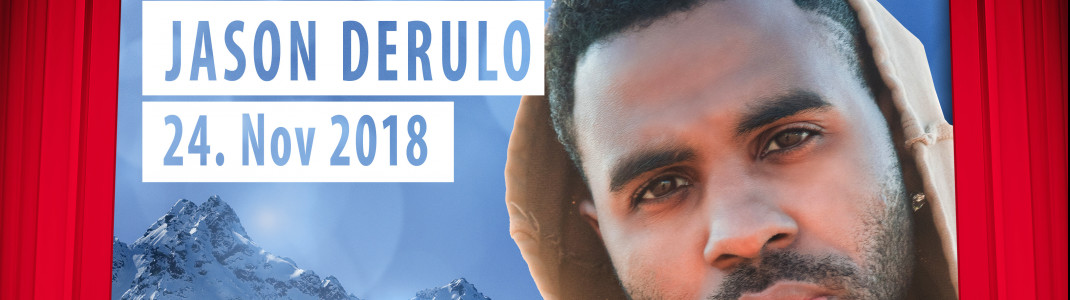 Am 24. November 2018 gibt Jason Derulo beim Top of the Mountain Opening Concert sein Ischgl-Debüt.