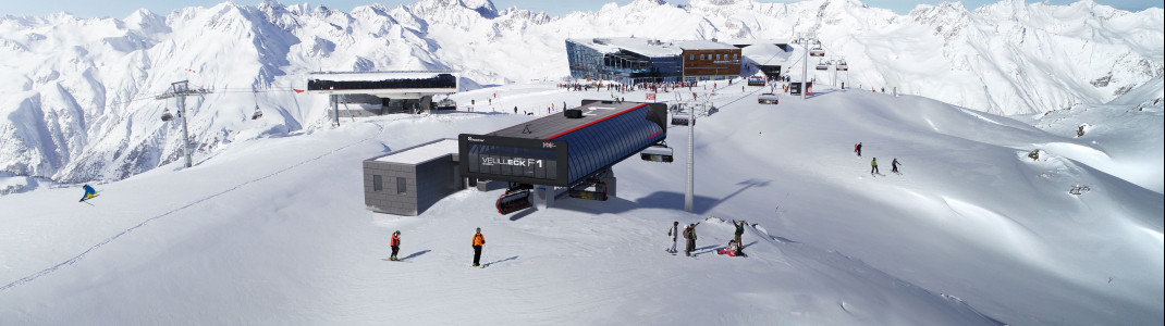 Skizze der neuen Bergstation Velilleck F1