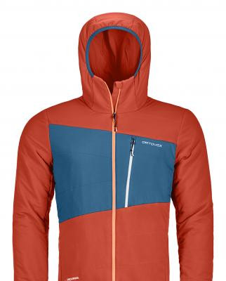 Swisswool Tec Stretch Zebru Jacket von Ortovox