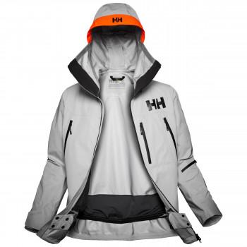 Die Elevation Infinity Shell Jacket ist auch ohne Chemie dauerhaft wasserdicht.