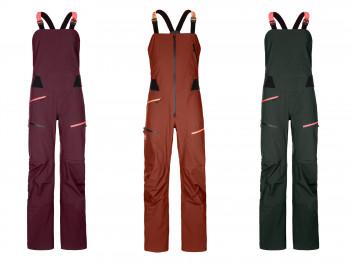 3L Deep Shell Bib Pants von Ortovox gewinnt die Kategorie Snow Jackets, Pants & Suits.