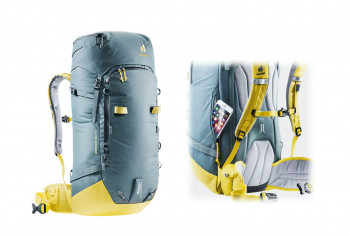 The Freescape Pro from Deuter is a highly functional backpack for multi-day ski tours.