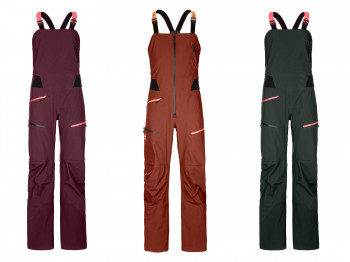 The 3L Deep Shell Bib Pants by Ortovox win the category Snow Jackets, Pants & Suits.