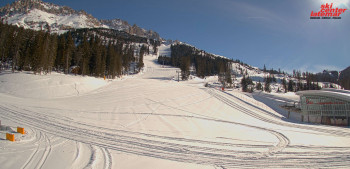 Ski areas in orange zones, such as Obereggen, would not have been allowed to open yet anyway.