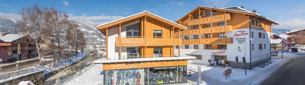 Das AlpenParks Hotel & Apartment Orgler liegt im Zentrum von Kaprun.