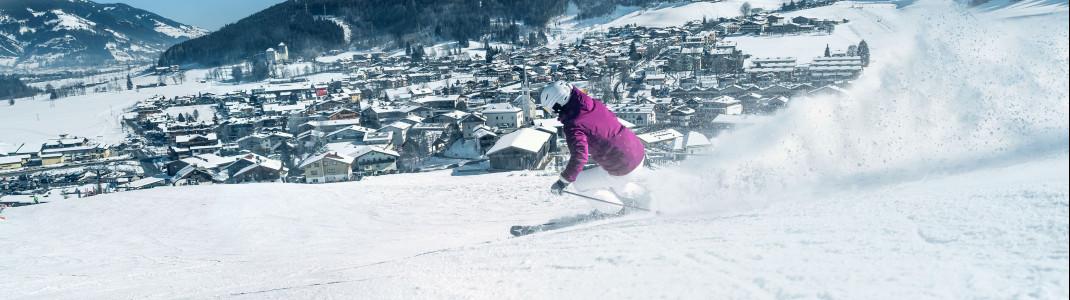 Mit den Skiern vom Gletscher bis nach Kaprun:. Das wird ab der Wintersaison 2019/20 Realität.