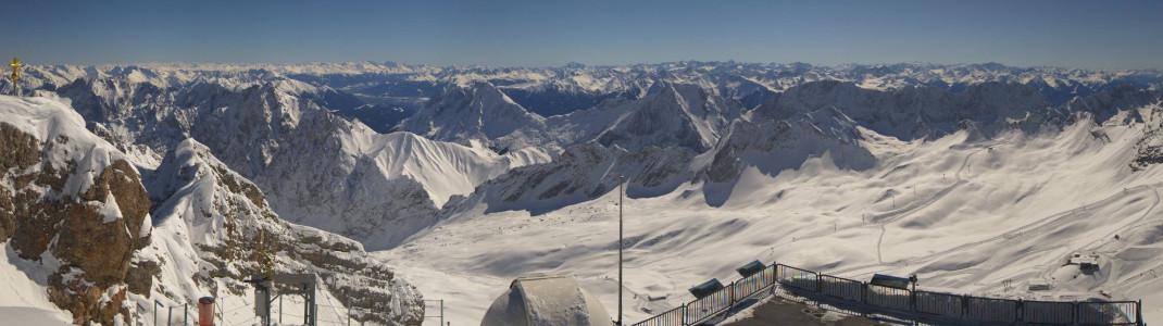 Die Skisaison auf der Zugspitze fällt komplett aus.