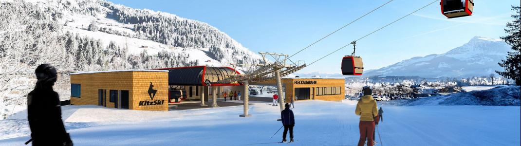 Eröffnet wird die neue Fleckalmbahn in Kitzbühel im Dezember 2019.