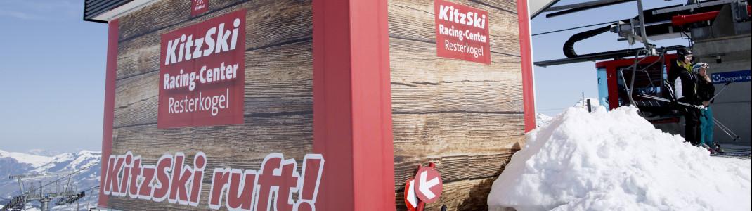 Zum Saisonauftakt in Kitzbühel ist nur die Piste am Resterkogel geöffnet.