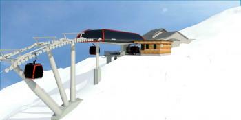 So soll die neue Bergstation der Comfortline S 10EUB Raintal aussehen.