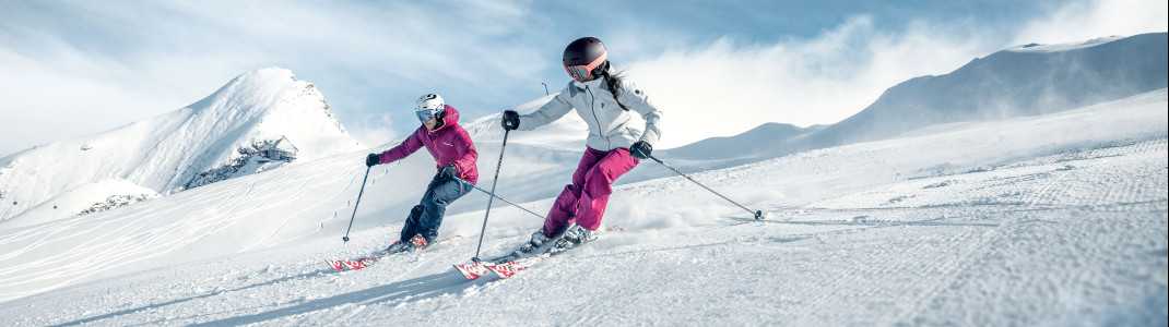 Das Kitzsteinhorn ist von Oktober bis Mai schneesicher.