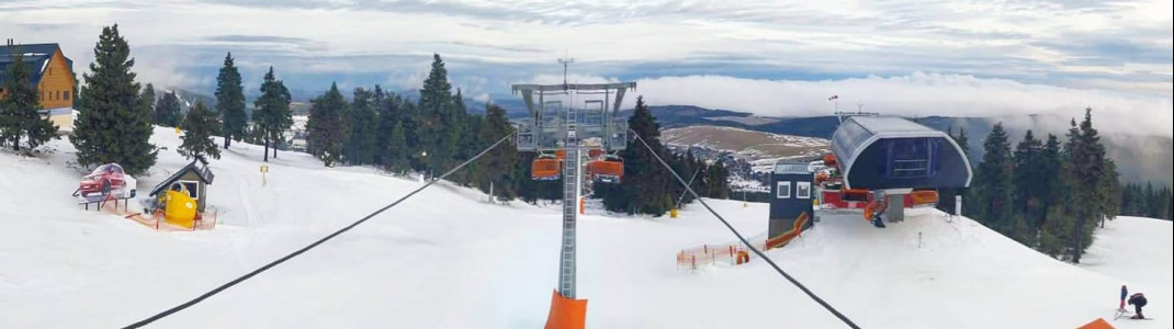 Klínovec will open its brand-new chair lift for the 2019-2020 season.