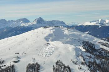 Der einmalige 360-Grad-Blick vom Plateau macht den Kronplatz zu Südtirols Skiberg Nr. 1