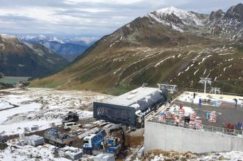 Die neue Bergstation liegt höher als der vorherige Schlepplift-Ausstieg.
