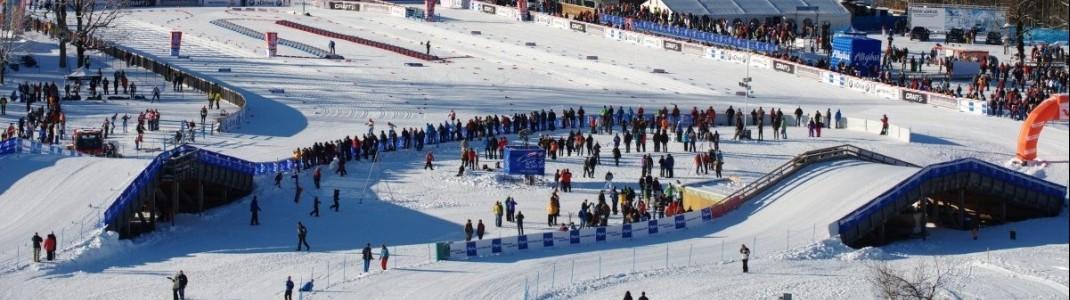 In Oberstdorf sind die Weltcup-Profis zum Jahreswechsel zu Gast.