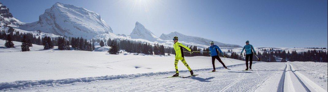 Langlaufen ist eine Sportart für Genießer