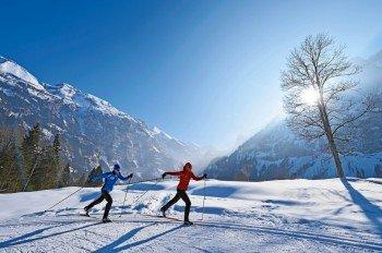 Beim nordischen Skisport werden rund 90 Prozent aller Muskeln beansprucht.