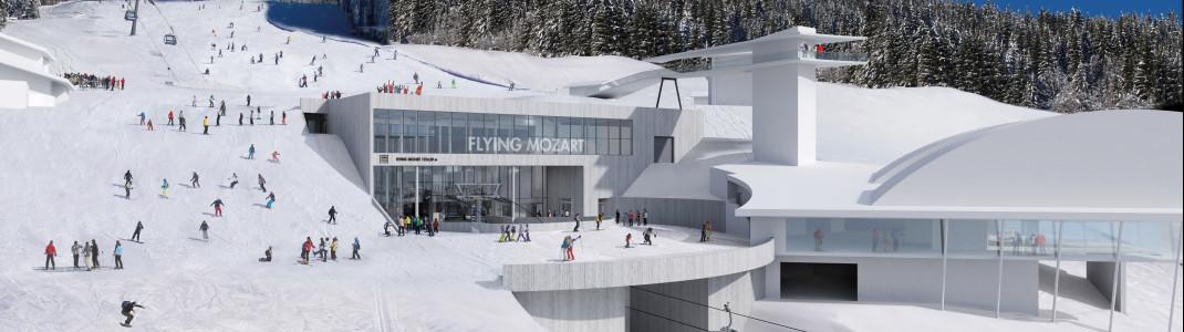 Die Mittelstation der Flying Mozart Bahn wird unterirdisch gebaut.