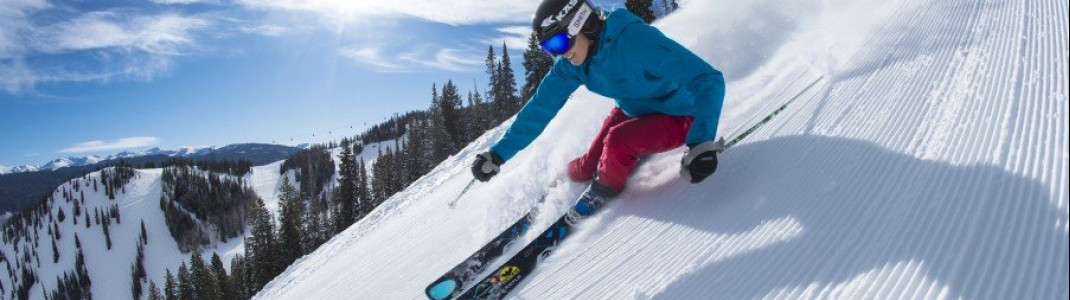 Aspen Snowmass in the Rocky Mountains is great for skiers of every skill level.