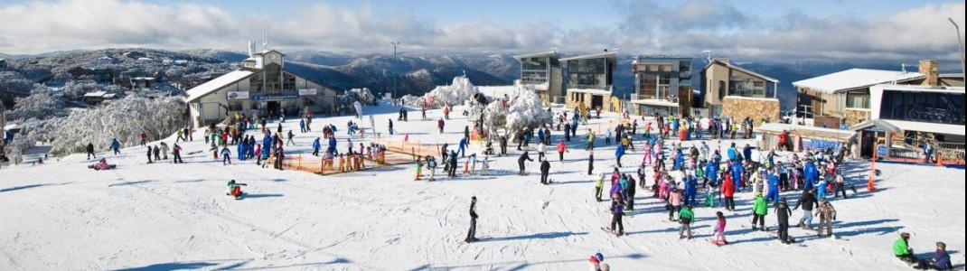 Am Mt Buller läuft der Skibetrieb vorerst weiter.