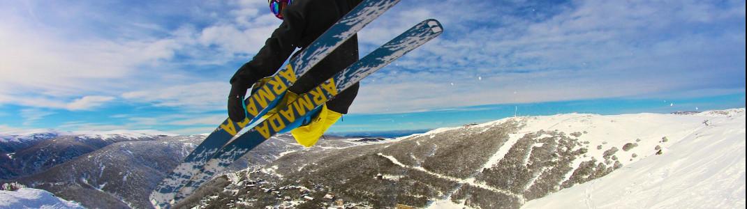 Falls Creek gehört zu den größten Skigebieten Australiens.