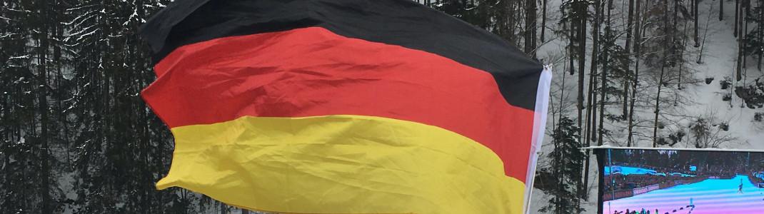 WM-Heimspiel für die deutschen Starter in Oberstdorf.