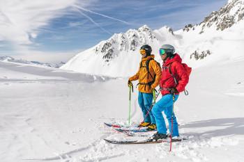 Auf zur nächsten Skitour mit der neuen La Grave Touring-Kollektion von Schöffel.