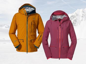 Die Schöffel La Grave Jacken verfügen über viele funktionelle Eigenschaften.
