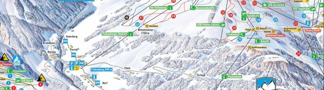 Neu gebaut wird in den nächsten Monaten die Finkenberger Almbahn vom Tal bis zur Mittelstation auf 1750 Metern.