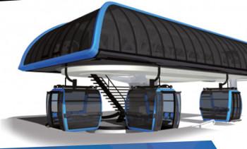 Die neuen 10er Gondeln sind nicht nur höher als üblich, sondern bieten auch breitere Sitze und mehr Fußraum.