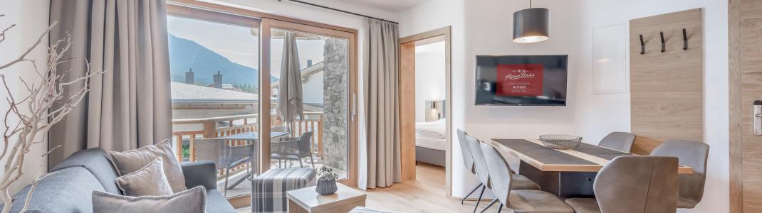 Neu seit Sommer 2020: AlpenParks Chalet & Apartment Alpina Seefeld