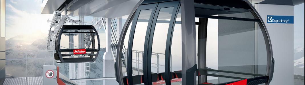 Die neue Salvistabahn in der SkiWelt.