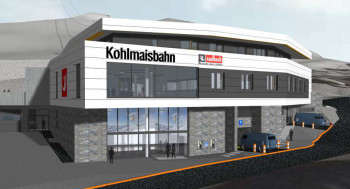 Das größte Einzelprojekt im Skicircus ist die neue Kohlmaisbahn mit Talstation in Saalbach.