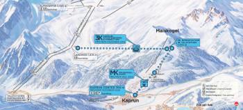 So sieht die neue Seilbahnachse zwischen Kaprun, Maiskogel und Kitzsteinhorn aus. Im Dezember 2019 wird sie eröffnet.