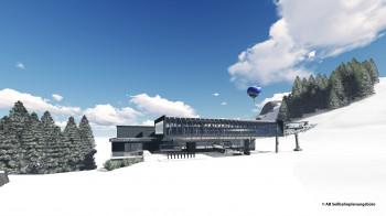 In der SkiWelt entsteht eine moderne 8er Sesselbahn.