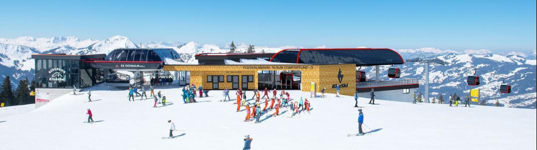 In Kitzbühel entsteht 2019 die neue Fleckalmbahn.