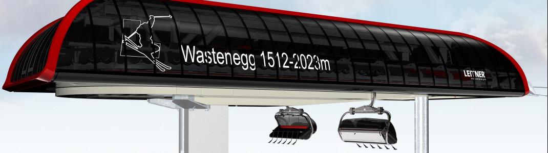 Die neue 6er Sesselbahn in Ladurns führt zum höchsten Punkt des Skigebiets.