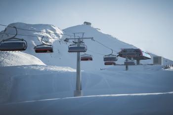 Am Skiberg Helm gibt es eine neue 8er-Sesselbahn.