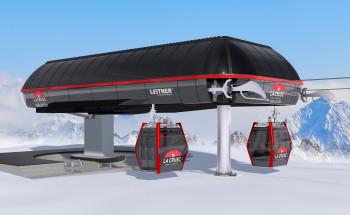 In Alta Badia geht zur Saison 2019/20 die neue Gondelbahn La Crusc 2 in Betrieb.