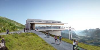 Die neue Bergstation am Patscherkofel