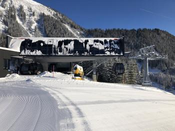 An der Mittelstation der Oberen Karbahn soll ein neues Bergrestaurant entstehen.