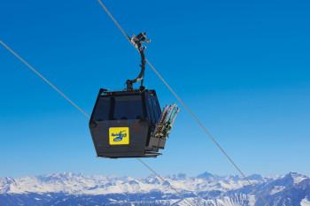 Bei der neuen Spieljochbahn kommen erstmals die neuen Diamond EVO Kabinen von Leitner zum Einsatz.