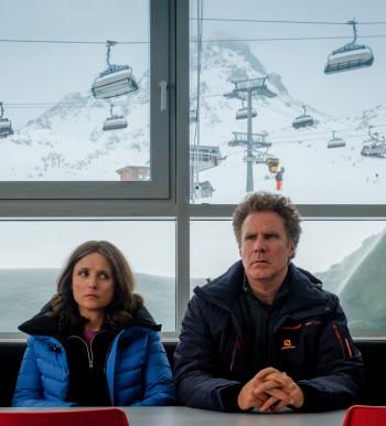 """In den Hauptrollen für """"Downhill"""" sind Julia Louis-Dreyfus und Will Ferrell zu sehen."""