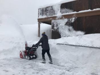 Im Breckenridge Ski Resort gab es letzte Woche rund 1,20 Meter Neuschnee.