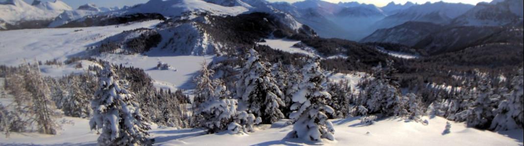 Auch das kanadische Skigebiet Sunshine Village ist bereit für die Skisaison 2018/19.