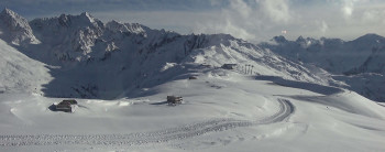 120cm hoch liegt der Schnee bereits am Hochzeiger.