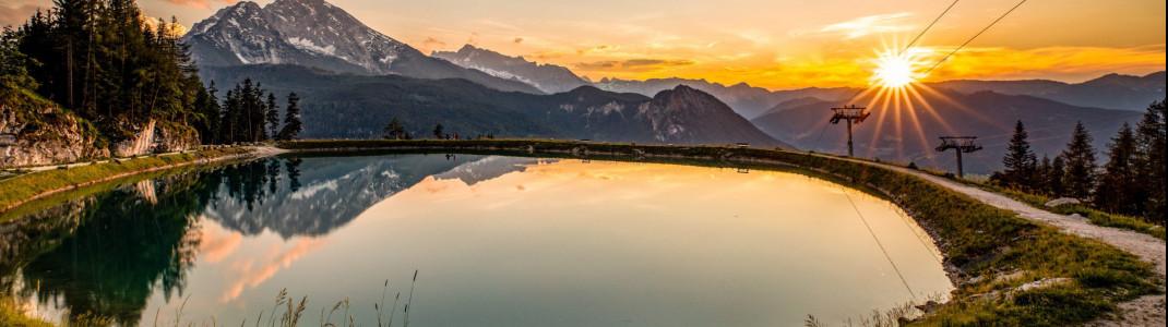 Ab Pfingsten kann man den Jenner im Berchtesgadener Land wieder mit der Gondelbahn erreichen.