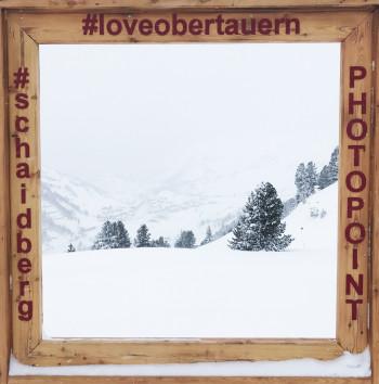 Sogar bei dichtem Nebel entstehen am Photopoint auf dem Schaidberg tolle Aufnahmen. Unter #loveobertauern kannst du deine Bilder mit anderen teilen.